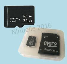 32GB Micro-SD Speicherkarte MicroSD Karte Class 10 32 GB Handy Speicherkarte