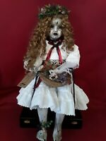 Sinisterly Sissy's 'Joeleen' Undead,Spooky,Creepy,Haunted,Gothic, 22inch sitting