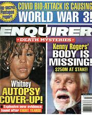 National Enquirer October 26 2020 Whitney Houston Kenny Rogers Eddie Van Halen