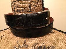 Tex Tan/Textan Alligator Cowhide Lined Belt Size 32