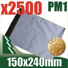 #1 x 2500 Courier Bag Poly Mailer Satchel 150x240mm FREE SHIPPING AUSTRALIA WIDE