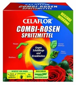 Celaflor Combi Rosen Spritzmittel Konzentrat gegen Pilz + Schädlinge 2 x 100 ml