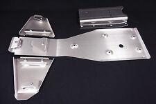 HONDA TRX300EX FRAME SKID PLATE & A-ARM GUARD SET .125 SWINGARM SKID .250 300EX