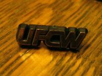 UFCW Labor Union Lapel Pin - Vintage United Food and Commercial Workers Badge