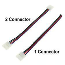 Rgb LED Tira Conector 4pin 10mm 5 un./lot Conector de Soldadura Gratis