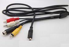 AV A/V Cable/Cord For SONY Handycam MiniDV HDD VMC-15FS VMC15FS_sx