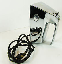 Chrome  Vintage Dormeyer Hand Mixer no Beaters Model HM 8 Works!