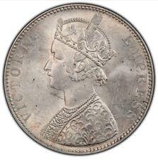British India 1 Rupee 1898  B Pcgs Ms62