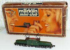 Märklin 8856 Mini Club E-Lok Krokodil BR 13302 Be 6/8 OVP guter Zustand Spur Z