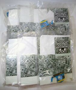 Lot of (7) The Money Machine Cash Gift Dispensers New and Sealed Gift Idea