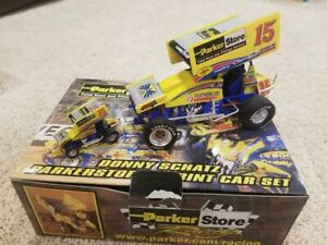 Rare 2002 Donny Schatz 1/18 & 1/50 GMP Sprint Car Set Parker #1082 of 1500 WoO