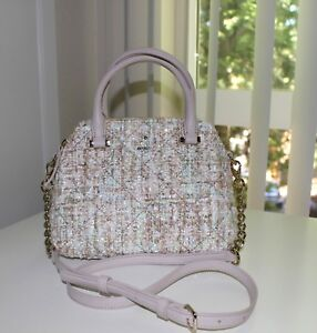 kate spade new york Emerson Place Fabric Small Maise Satchel Shoulder Bag NEW