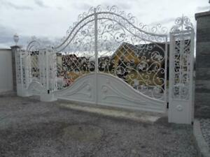 Antique Style Entrance Villa Gate Garage Doors Entrance Gate Maßfertigung