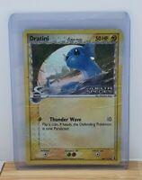 Dratini Stamped Holo Shiny Pokemon TCG Card EX Delta Species 66/113 Heavy Play