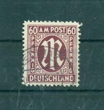 Gestempelte Deutsche Briefmarken der alliierten Besatzung für Post, Kommunikation