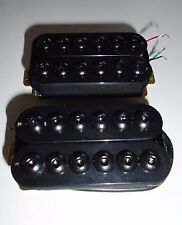 New Set Humbuckers - crusader style - black - pour guitare HH