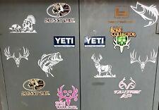 Vinyl Decal 5 Hunting Fishing Mossy Oak Bone Collector Car Truck Window Deer