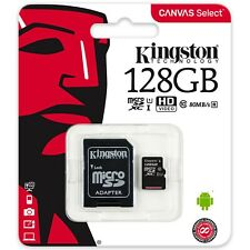Kingston Canvas Select 128GB micro SD SDXC 80MB/s Class10 UHS-I Memory Card 128G