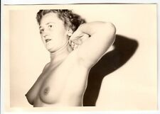 AKTSTUDIE EINER REIFEN FRAU / MATURE WIFE / AKTFOTO * Vintage 50s Nude Photo #5
