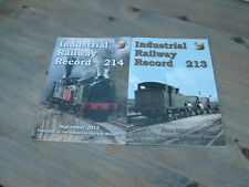 Industrial Railway Record 213 and 214 from 2013, post free UK