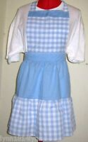KIDS DOROTHY WIZARD OF OZ COSTUME APRON Fit up to 12 years CAN BE PERSONALISED