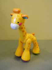 COLLECTIBLE FISHER PRICE AMAZING ANIMALS GIRAFFE  BABY/TODDLER TOY