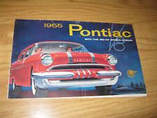 1955 Pontiac with the 180-HP Strato-Stream Brochure