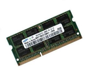 4GB DDR3 RAM Speicher HP EliteBook 8440p 8540p 8540w - Samsung Original 1333 Mhz