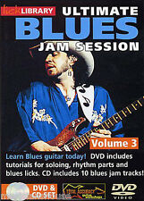LICK LIBRARY ULTIMATE BLUES JAM SESSION Learn to Play Solo Tracks GUITAR DVD 3