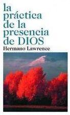 LA PRACTICA DE LA PRESENCIA DE DIOS - HERMANO LAWRENCE (PAPERBACK) NEW