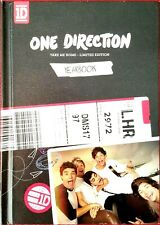 One Direction Yearbook Take Me Home Tour Book US CD Ltd Ed Like New 1D Lot 2013