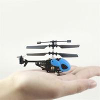 Micro Drone Mini RC Helicopter Nano Remote Control Kids Gift Toy Indoor 2CH RTF