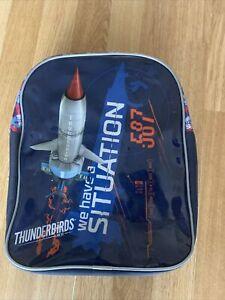 Boys Blue Thunderbirds Back Pack