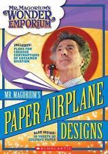 Mr. Magorium's Paper Airplane Designs (Mr. Magorium's Wonder Emporium)