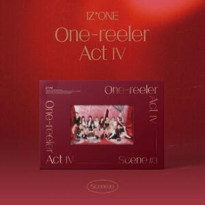 "K-POP IZ*ONE Album ""One-reeler / Act Ⅳ"" <1 PHOTOBOOK + 1 CD> Scene #3 Ver"