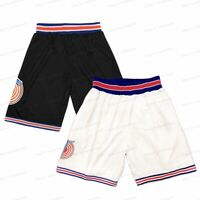 Space Jam Tune Squad Men's Basketball Shorts Sports Pants Stitched S-3XL
