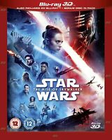 STAR WARS EPISODE 9 IX BLU RAY 3D Movie RISE OF SKYWALKER FILM Brand New UK Rel