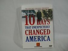 10 Days That Unexpectedly Changed America History Channel DVD (1E1)
