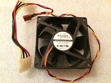 Ventola case Nexus SP802512L-03 3-pin & Molex 80x80x25 mm DC 12V 0.15A 1,500 RPM