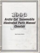 1993 ARCTIC CAT SNOWMOBILE CHEETAH PARTS MANUAL P/N 2254-863 (139)