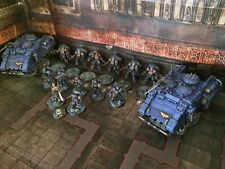 WHMS Phobos Primaris Army Painted Commission Warhammer 40k Space Marines Tanks