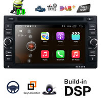 Android 9.0 Double DIN Car Stereo DVD Player Radio GPS SAT NAV 3G WIFI Bluetooth