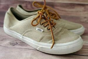 Vans Womens Sneakers Size 9 Authentic Tan