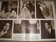 Photo article Laurence Olivier Vivien Leigh working together London 1949 r K