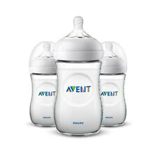Philips AVENT Naturel Bouteille 260ml 3Pk
