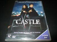 """COFFRET 6 DVD NEUF """"CASTLE - SAISON 3"""""""
