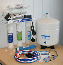 50GPD Reverse Osmosis Undersink Drinking Water Filter, + EXTRA SET OF CARTRIDGES