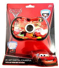 """Disney Pixar Cars 2 Digital 2.1MP Camera 1.5"""" LCD Preview Screen 81006"""