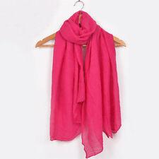 Rosen Damen-Schals aus 100% Baumwolle