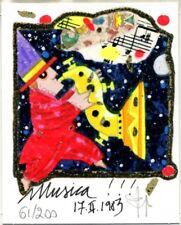 FRANCESCO MUSANTE - MUSICA!!! - serigrafia CONFEZIONE REGALO